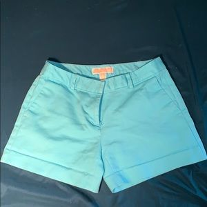 Michael kors shorts light blue